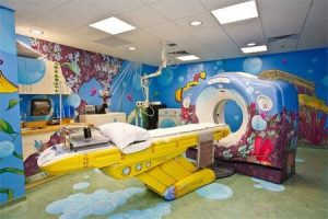 Custom indoor sign mural MRI